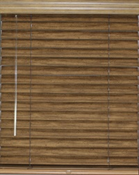 2.5 Inch Cordless Wood Blind