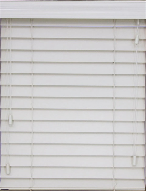 "2.5"" Corded Wood SmartPrivacy Blind"