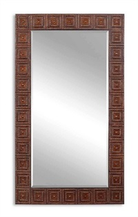 Adel Oversized Bronze Mirror