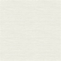 Agave Bliss Light Grey Faux Grasscloth Wallpaper