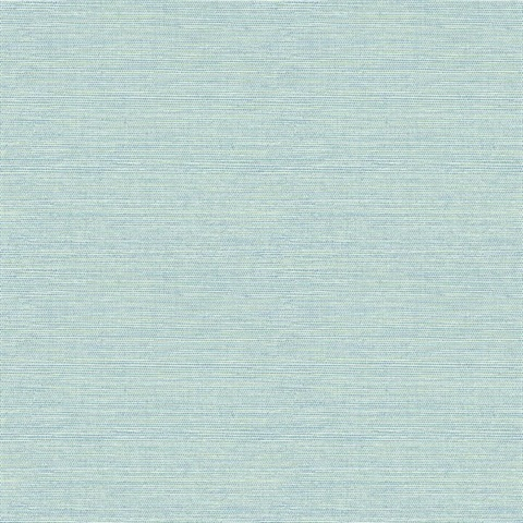 Agave Bliss Teal Faux Grasscloth