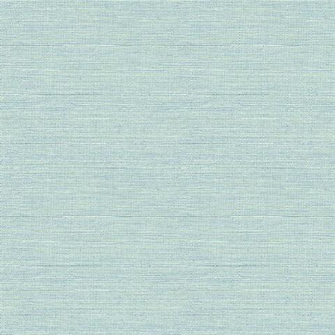 Agave Mint Faux Grasscloth Wallpaper