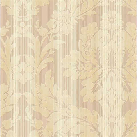Agnes Damask Stripe