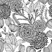 Alannah Black Botanical Wallpaper
