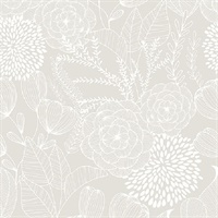 Alannah Bone Botanical Wallpaper