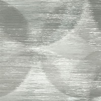 Alchemy Grey Geometric Wallpaper