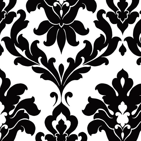 Plaza Damask Wallpaper