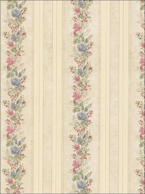 992 68351 vintage rose totalwallcovering com. Black Bedroom Furniture Sets. Home Design Ideas