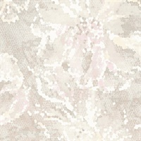Allure Blush Floral Wallpaper