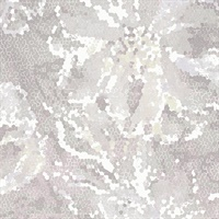 Allure Lavender Floral Wallpaper