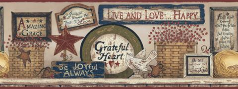 Cb5532bd Hearts And Crafts 3 Border Book By York