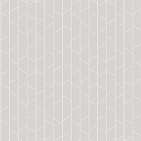 Angle Grey Geometric Wallpaper