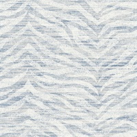 Antibes Blue Chevron Texture
