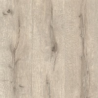 Appalacian Taupe Wood Planks Wallpaper