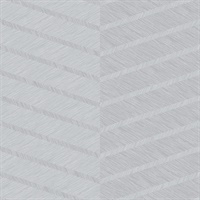Aspen Grey Chevron Wallpaper