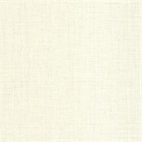 Aspero Cream Faux Silk Wallpaper