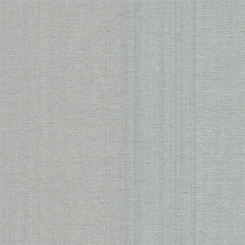 Aspero Silver Faux Silk Wallpaper