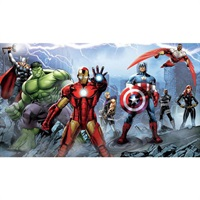 Avengers Assemble Pre-Pasted Mural