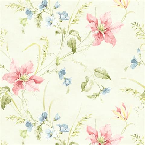 Cw20501 Wisteria Cottage Wallpaper Book By Brewster