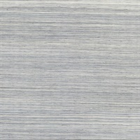 Baishin Silver Grasscloth Wallpaper
