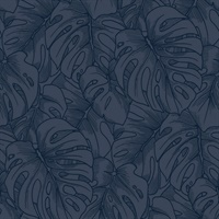 Balboa Indigo Botanical Wallpaper