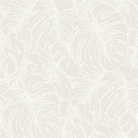 Balboa White Botanical Wallpaper