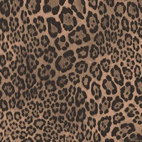 Balck and Brown Leopard Skin Wallpaper