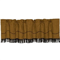 Barbwire Valance with Fringe