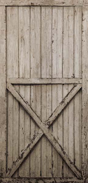 Lg1408m Barn Door Mural Rustic Living