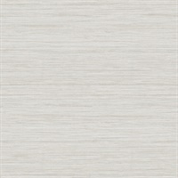 Barnaby Off-White Faux Grasscloth Wallpaper