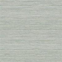 Barnaby Sage Faux Grasscloth Wallpaper