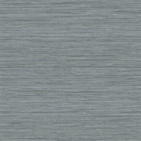 Barnaby Slate Faux Grasscloth Wallpaper