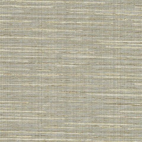 Bay Ridge Beige Linen Texture Wallpaper