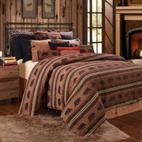 Bayfield 4 PC Bear Duvet Set, Twin