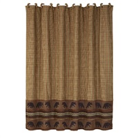 Bayfield Bear Shower Curtain