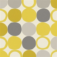Beard Yellow Geometric Wallpaper