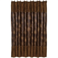 Bianca II Rustic Shower Curtain
