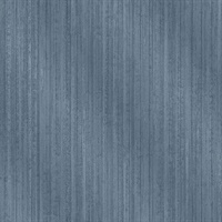 Bijou Blue Faux Metal Wallpaper