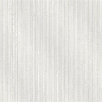 Bijou White Faux Metal Wallpaper
