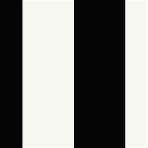 Black and Pearl White Stripes