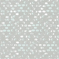 Blissful Light Blue Harlequin Wallpaper