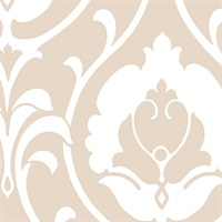 Italian Damask Wallpaper