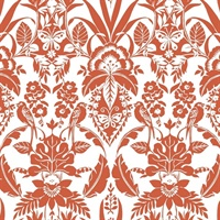 Botanical Damask Wallpaper