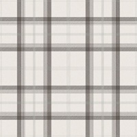 Cambridge Black Plaid Wallpaper