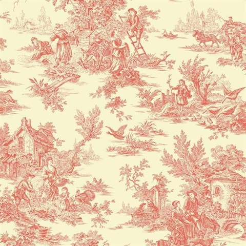 Ashford Toiles Campagne Wallpaper