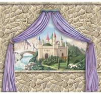 Castle Canopy Value Mural