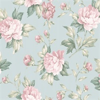 Catherine Light Blue Floral