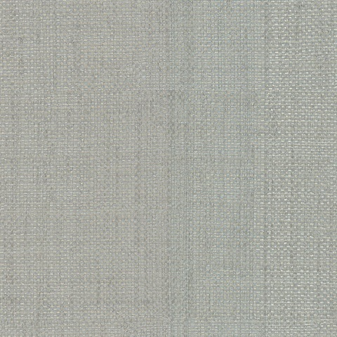 Caviar Silver Basketweave Wallpaper