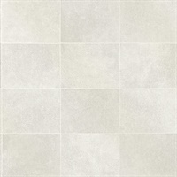 Cecelia Champagne Faux Tile Wallpaper