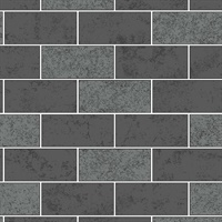 Ceramica Black Subway Tile